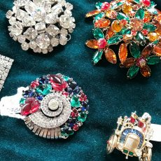 What's hot in vintage right now? Selling vintage jewelry online or at a vintage market.