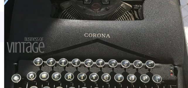 Selling vintage on Ebay. Should I take this offer? Business of VIntage Corona Typewriter. Learn all about the business of vintage.