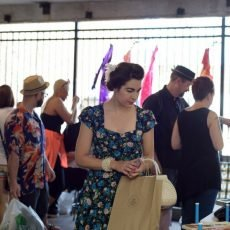 Millennials Love vintage at Vintage Garage Chicago and shop monthly at the show.